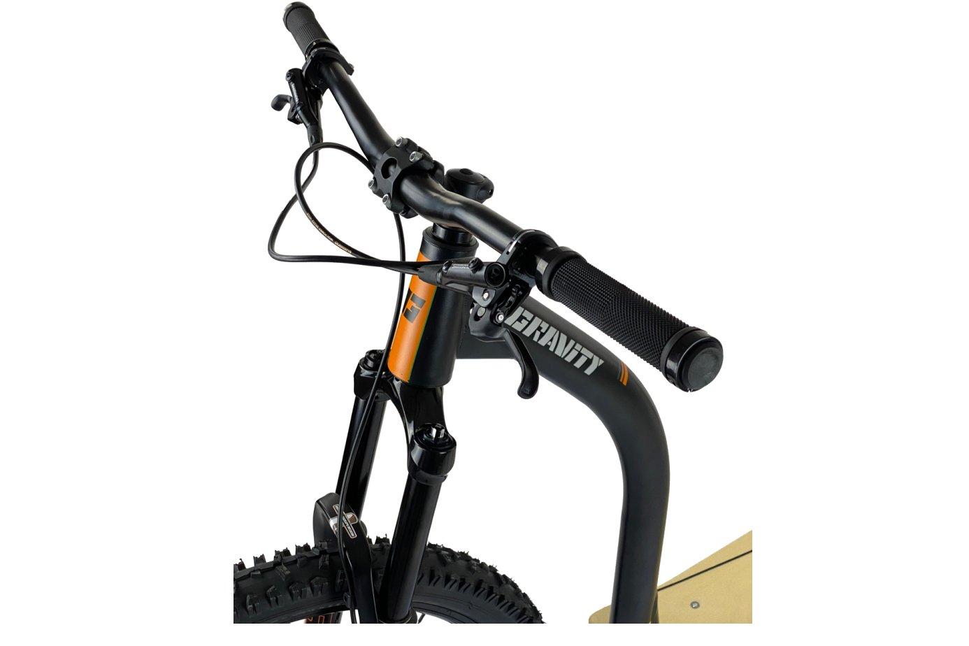 Downhill-Scooter-Federgabel mit langem Federweg
