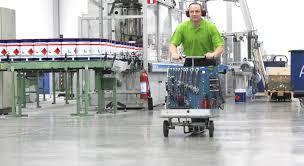 Lastenroller Produktion und Fertigung Hallen