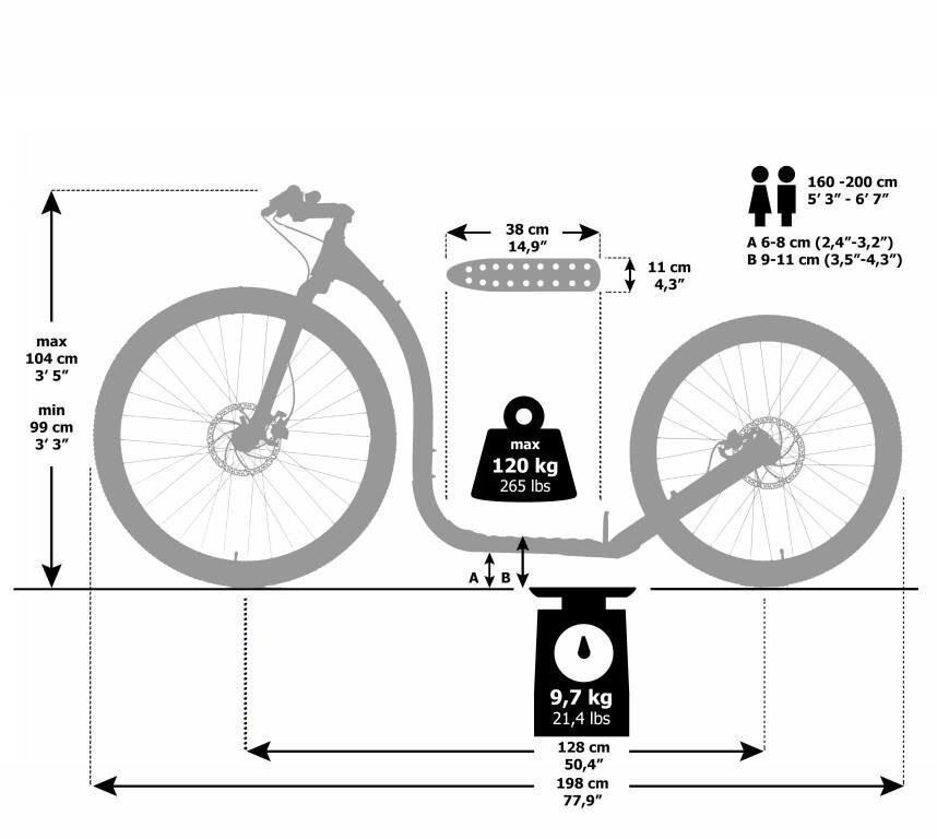 Maße-Kickbike-cross-max-29-26-black-schwarz