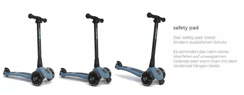 Safety pad Scoot and Ride Highwaykick 3 LED