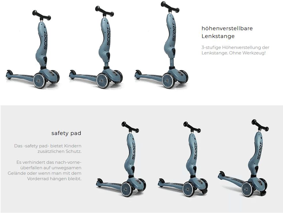 Safety pad-sicherheit-scoot and ride 1