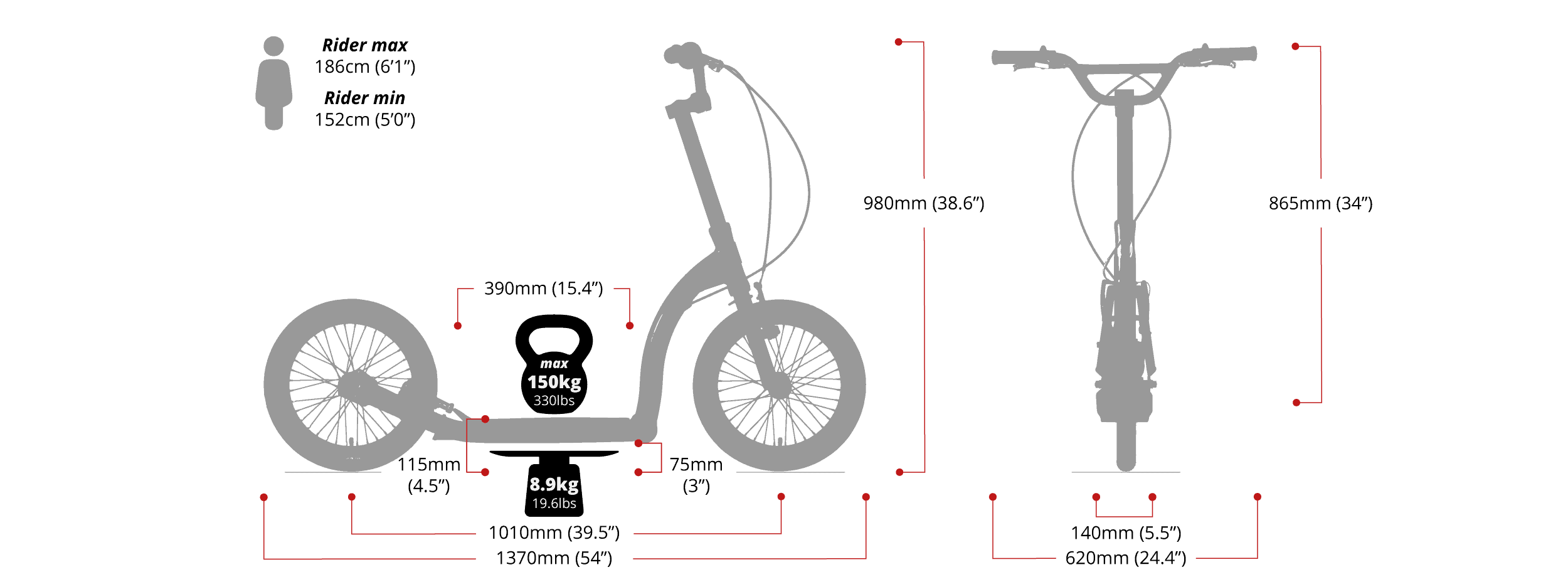 Swifty-Air-Maße-Größe-Länge