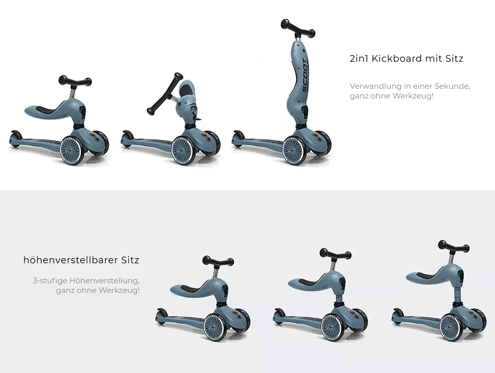 Umbau Scoot and Ride 1