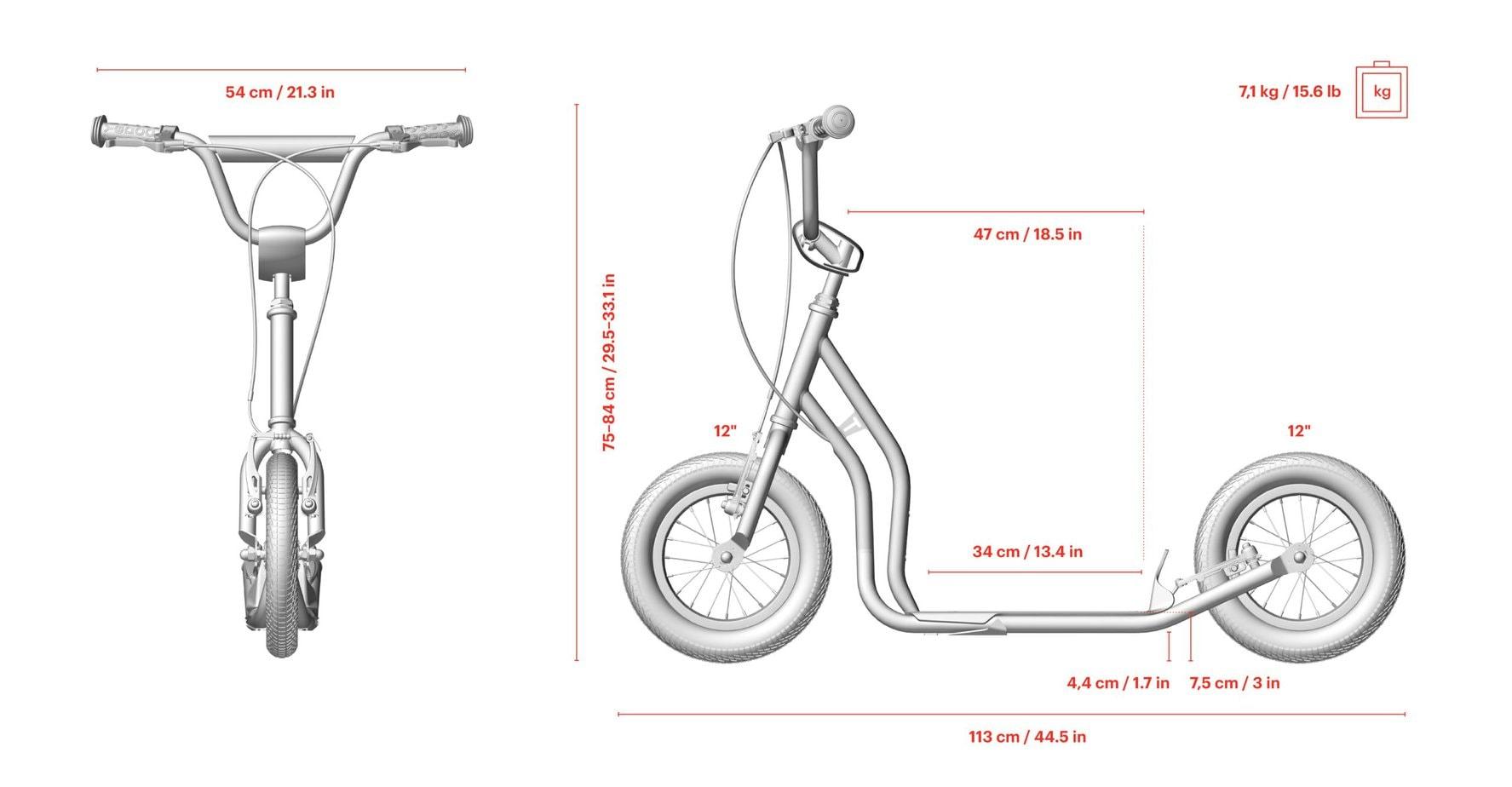 Yedoo New Tidit-Maße-Größe-Länge