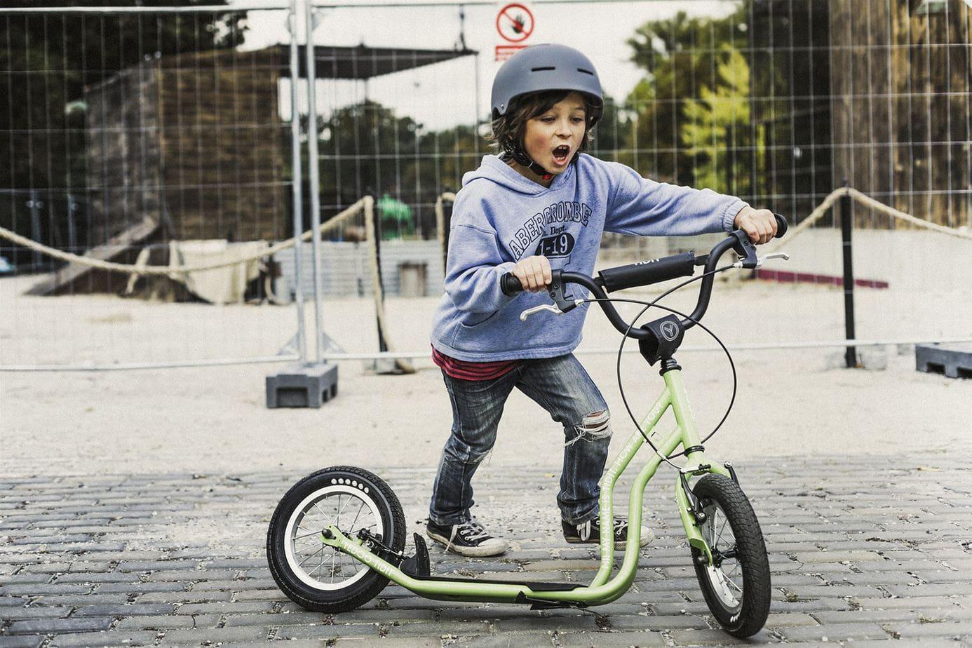 Kinderroller Tidit grün von Yedoo